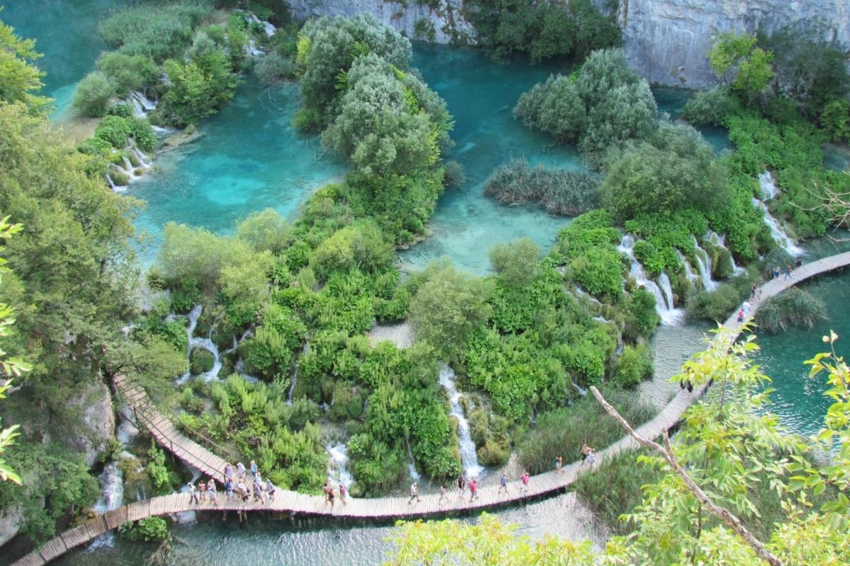 Viagem à Croácia Lagos Plitvice