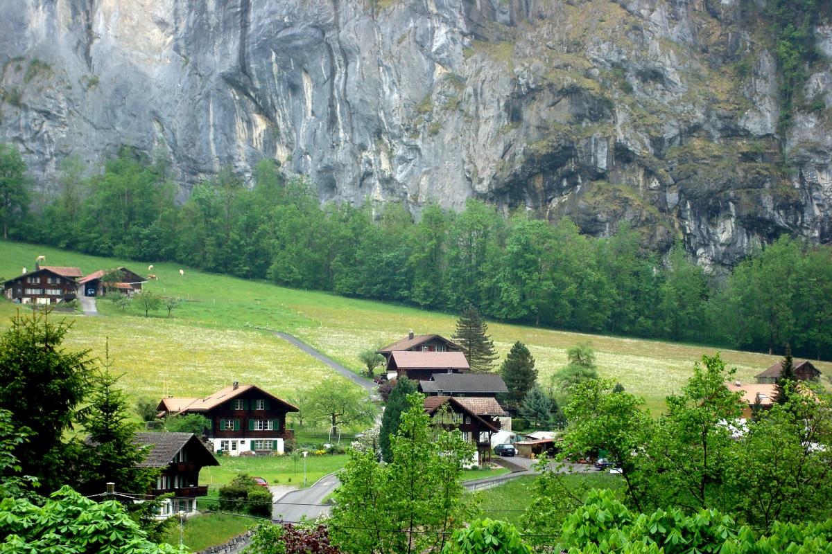 Viagem à Suiça Lauterbrunnen