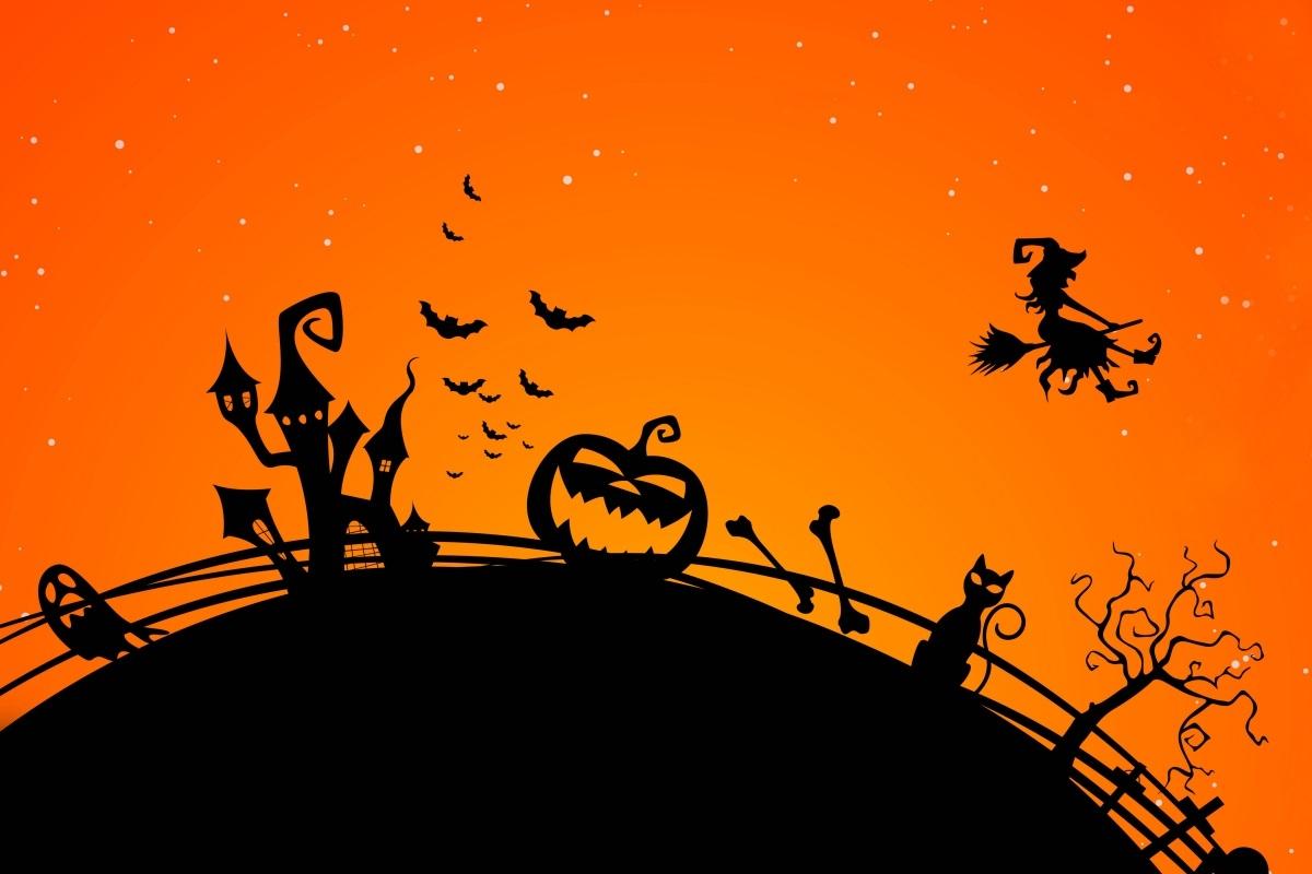 Caminhada nocturna  Halloween